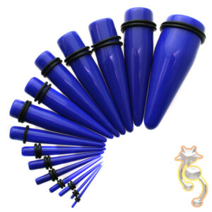 EX1B - Blue Color Acrylic Expander Sold as Pair