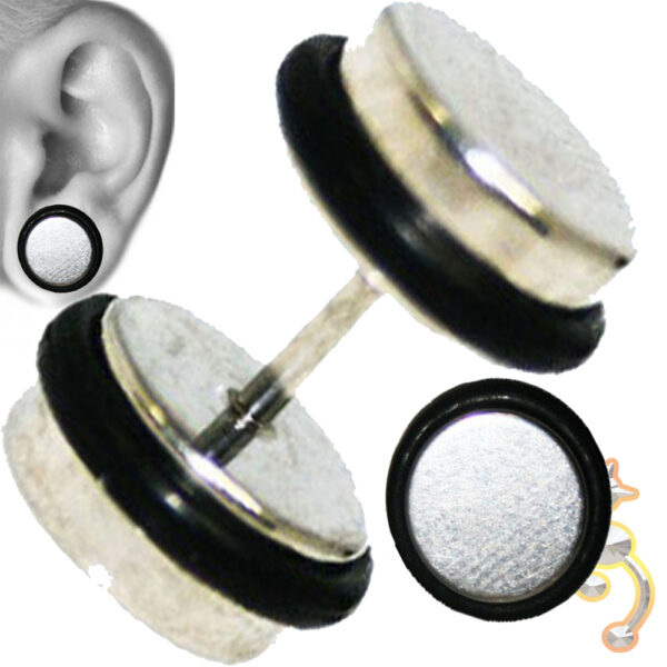 FP7 - Steel Fake Plugs with Double O-ring Sold as Pair